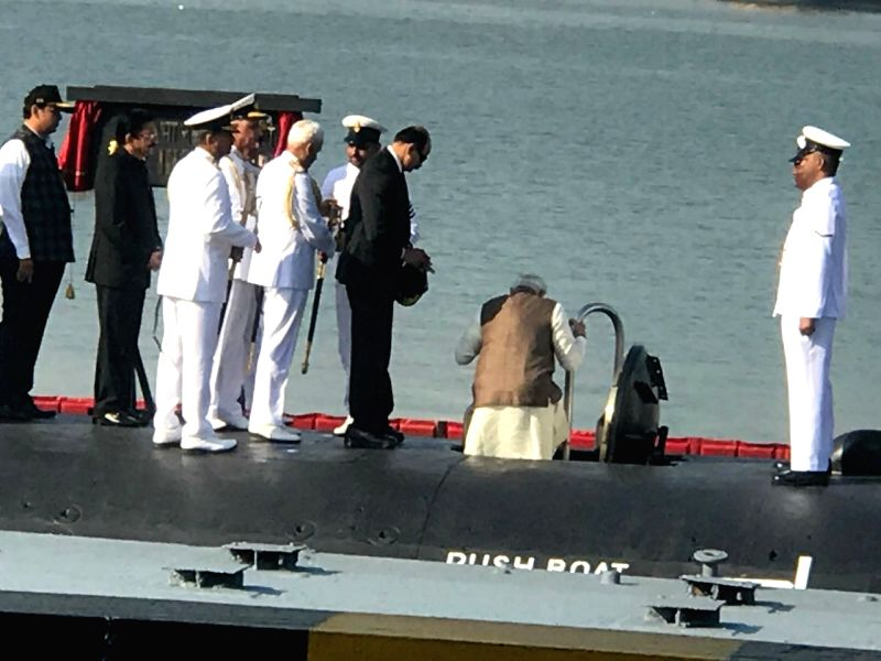 India's first Scorpene-class submarine INS Kalvari commissioned into Navy today