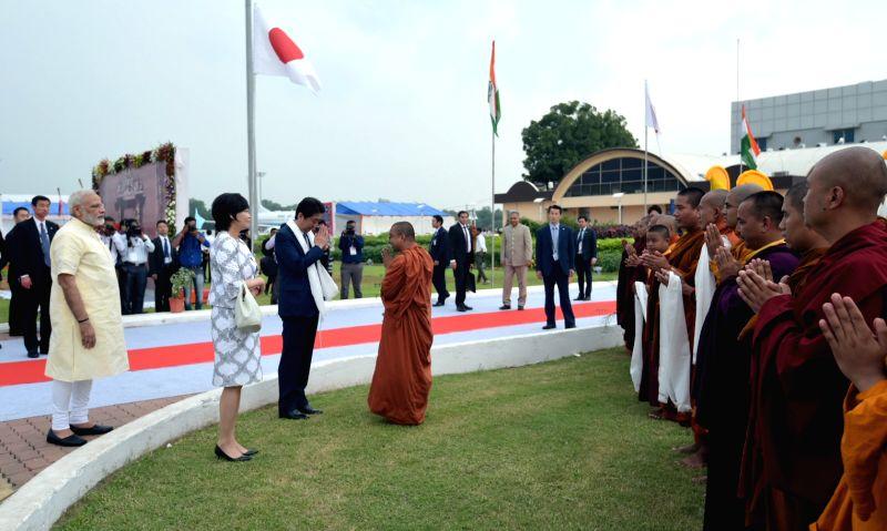 PM Modi with Shinzo Abe - Narendra Modi
