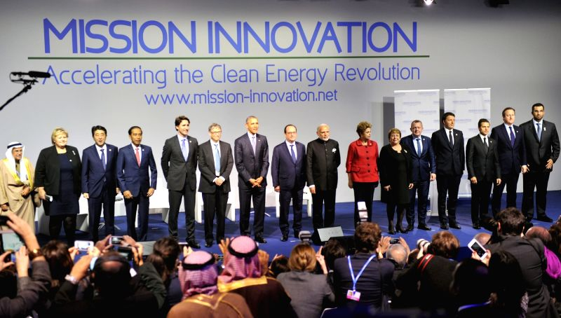 Prime Minister Narendra Modi with the President of United States of America (USA) Barack Obama, President of France, Francois Hollande, the President of Brazil, Dilma Rousseff, Bill Gates and ... - Narendra Modi