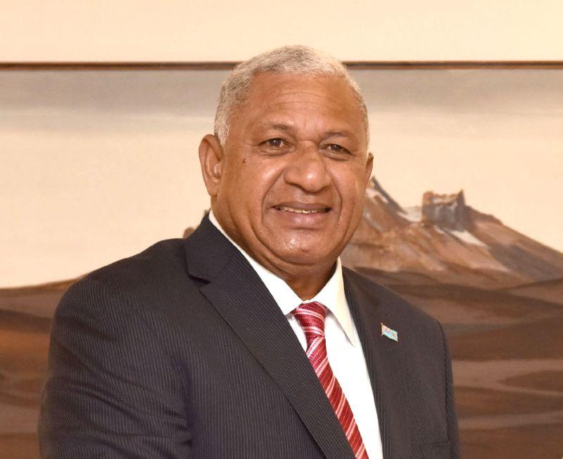 Prime Minister of Fiji Josaia Voreqe Bainimarama. (File Photo: IANS)