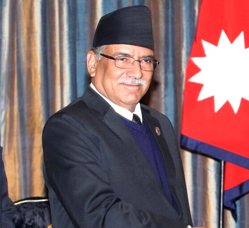 Prime minister of Nepal Pushpa Kamal Dahal. (File Photo: IANS)