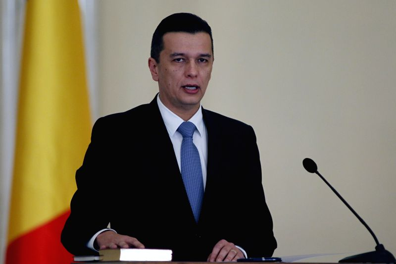 Prime Minister of Romania Sorin Grindeanu. (File Photo: IANS)