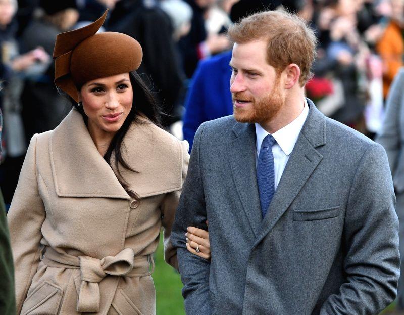 Prince Harry (R) and Meghan Markle. (Xinhua/IANS)