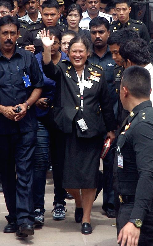 Princess of Thailand Maha Chakri Sirindhorn during her visit to Indian Museum in Kolkata on July 22, 2014.