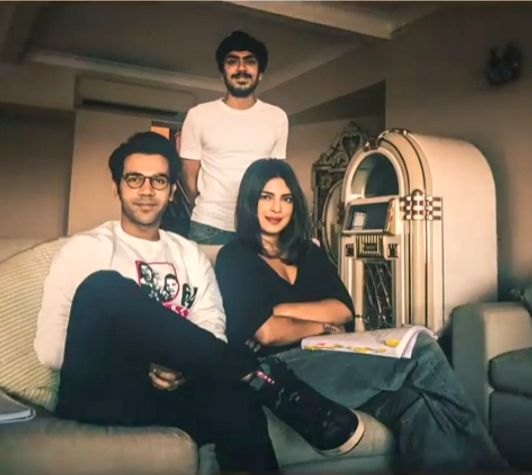 """Priyanka Chopra, Rajkummar Rao and director Ramin Bahrani are currently engaged in a table read session of the script of their upcoming Netflix project, """"The While Tiger"""", along with other members of the cast."""