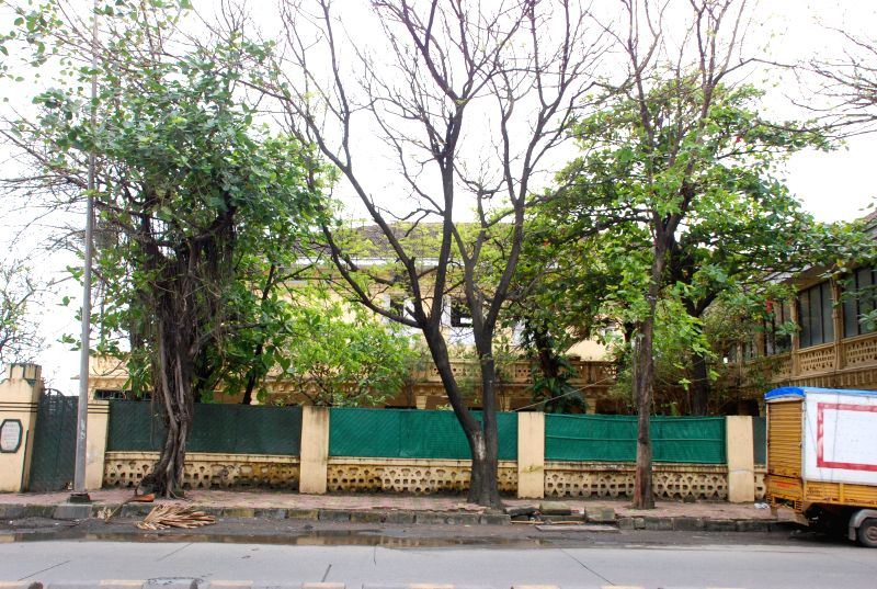 Priyanka Chopra`s new house in Mumbai on August 6, 2014.
