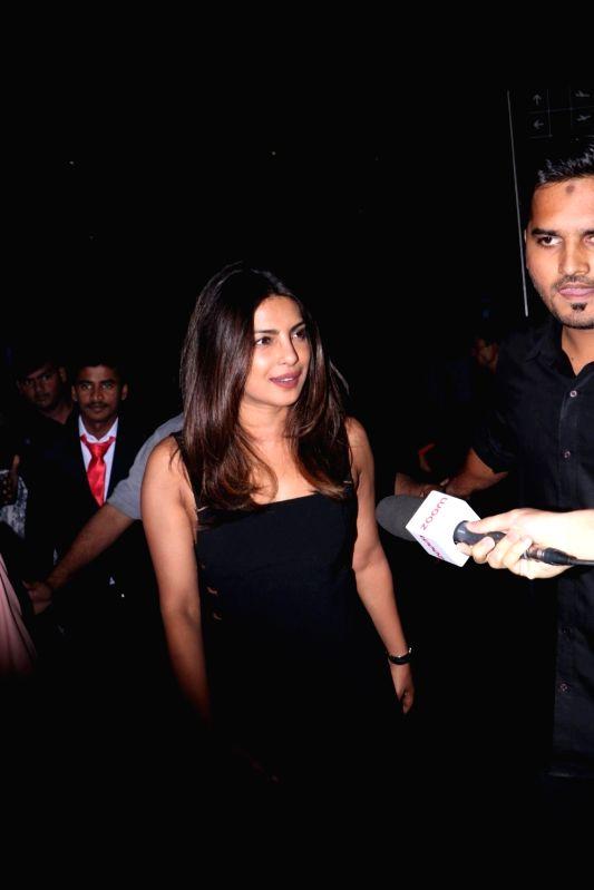 Priyanka Chopra spotted at Airport in Mumbai on June 7, 2017. - Priyanka Chopra