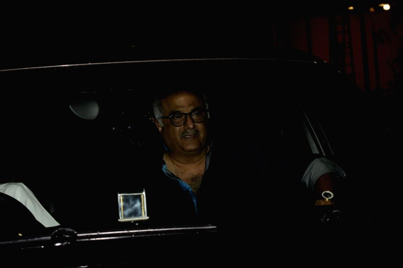 "Producer Boney Kapoor at the special screening of upcoming film ""Dhadak"" in Mumbai on July 18, 2018. - Boney Kapoor"