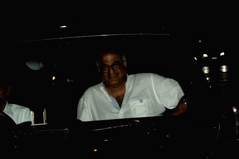 "Producer Boney Kapoor at the special screening of film ""Dhadak"" in Mumbai on July 19, 2018. - Boney Kapoor"