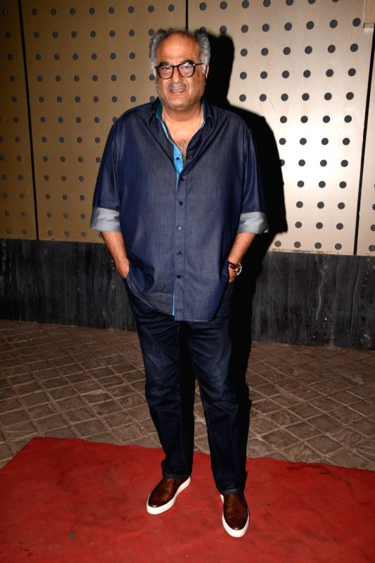 "Producer Boney Kapoor at the wrap up party of upcoming film ""Namaste England"" in Mumbai on June 20, 2018. - Boney Kapoor"