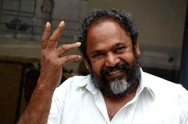 Producer, director and hero of the film `Rajyadhikaram` R Narayana Murthy arranged a press meet regarding film completed censor formalities and hitting screen on 15th Aug in Hyderabad on July 23, ...