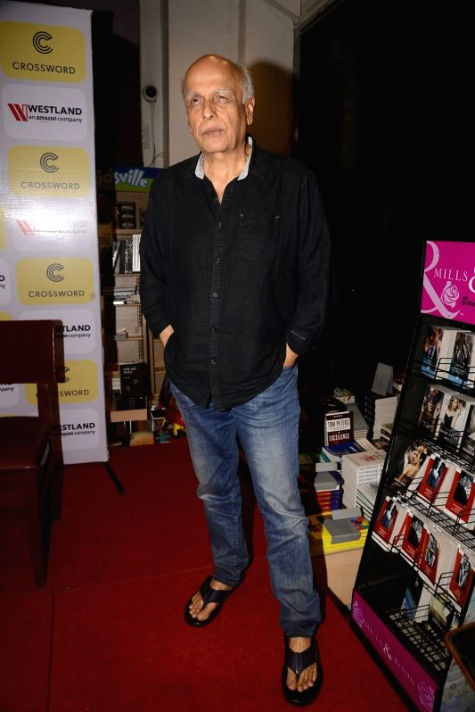 Producer Mahesh Bhatt at a book launch in Mumbai on July 6, 2018.