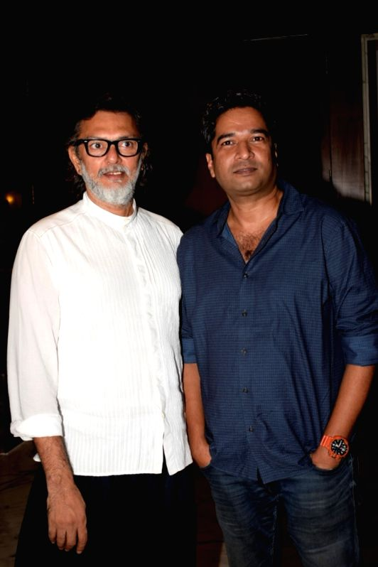 "Producer Rakesh Omprakash Mehra and director Atul Manjrekar during a media interaction to promote their upcoming film ""Fanney Khan"" in Mumbai on July 31, 2018. - Atul Manjrekar and Fanney Khan"