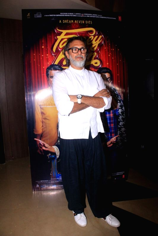 "Producer Rakesh Omprakash Mehra at the special screening of his upcoming film ""Fanney Khan"" in Mumbai on July 31, 2018. - Fanney Khan"