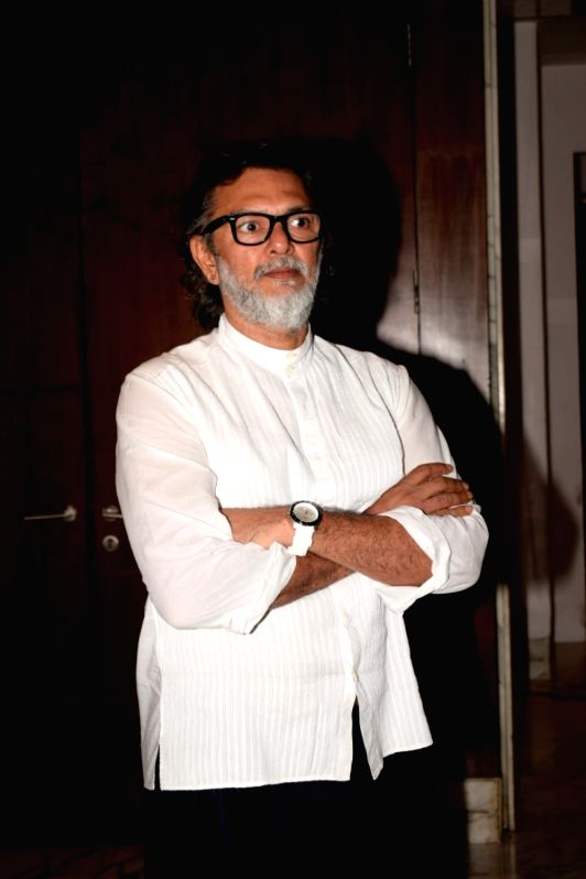 """Producer Rakesh Omprakash Mehra during a media interaction to promote his upcoming film """"Fanney Khan"""" in Mumbai on July 31, 2018. - Fanney Khan"""