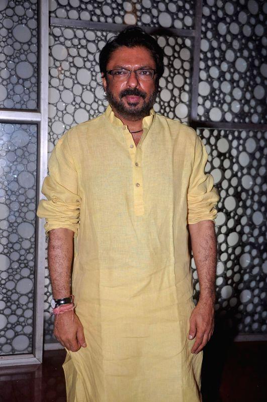 Producer Sanjay Leela Bhansali at the first look of `Shirin Farhad Ki Toh Nikal Padi` at Cinemax.