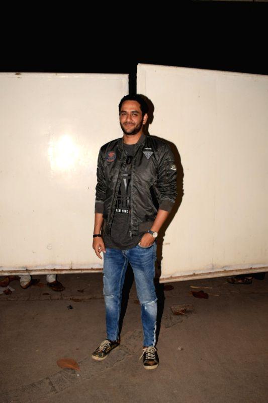 "Producer Vikas Gupta at the screening of web series ""The Test Case"" in Mumbai on Jan 29, 2018. - Vikas Gupta"