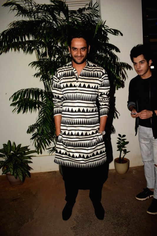 "Producer Vikas Gupta at the special screening of web series ""Haq Se"" in Mumbai on Jan 30, 2018. - Vikas Gupta"