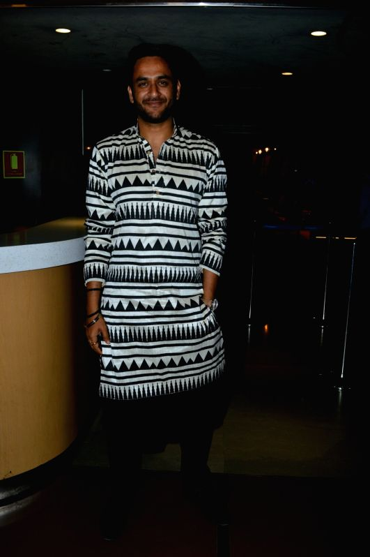 "Producer Vikas Gupta at the special screening of upcoming film ""Kuchh Bheege Alfaaz"" in Mumbai on Jan 30, 2018. - Vikas Gupta"