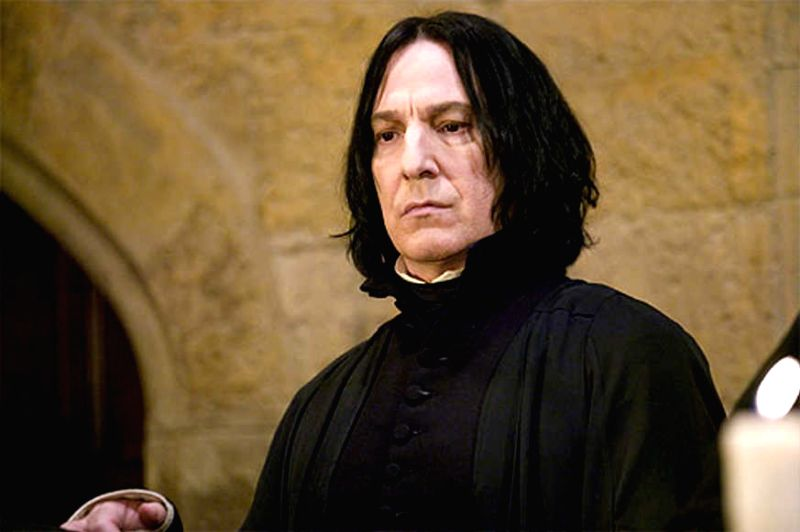 Prof Severus Snape, a classical Byronic Hero, from the Harry Potter universe