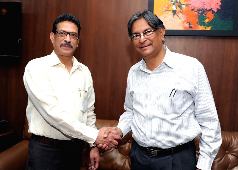 Prof. Talat Ahmad takes over as the new Vice-Chancellor of Jamia Millia Islamia in New Delhi on May 15, 2014.