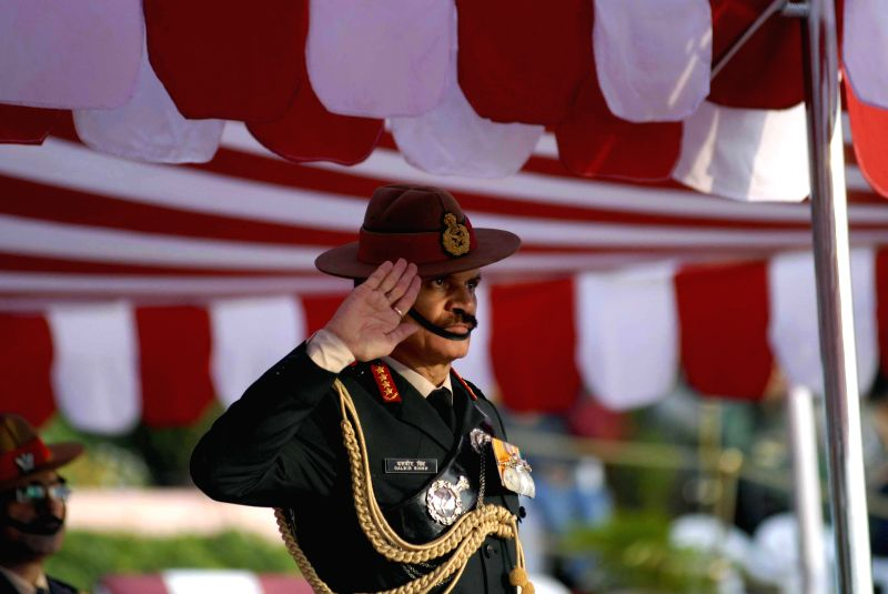 Chief of the Army Staff General Dalbir Singh reviewed the passing out parade of 127th National Defence Academy Course at the National Defence Academy in Pune, Maharashtra on Nov. 29, 2014.