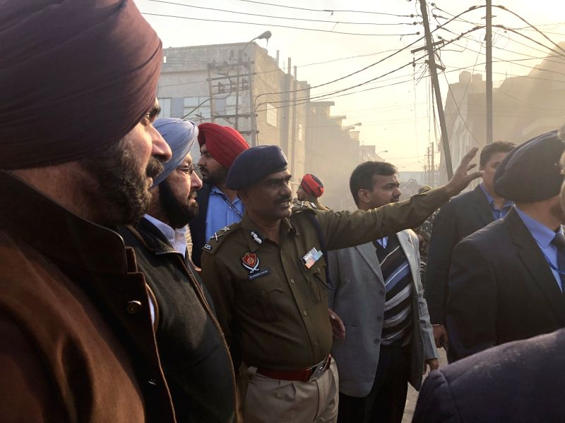 Massive Fire Engulfs Plastic Manufacturing Factory In Ludhiana, 3 People Reported Dead