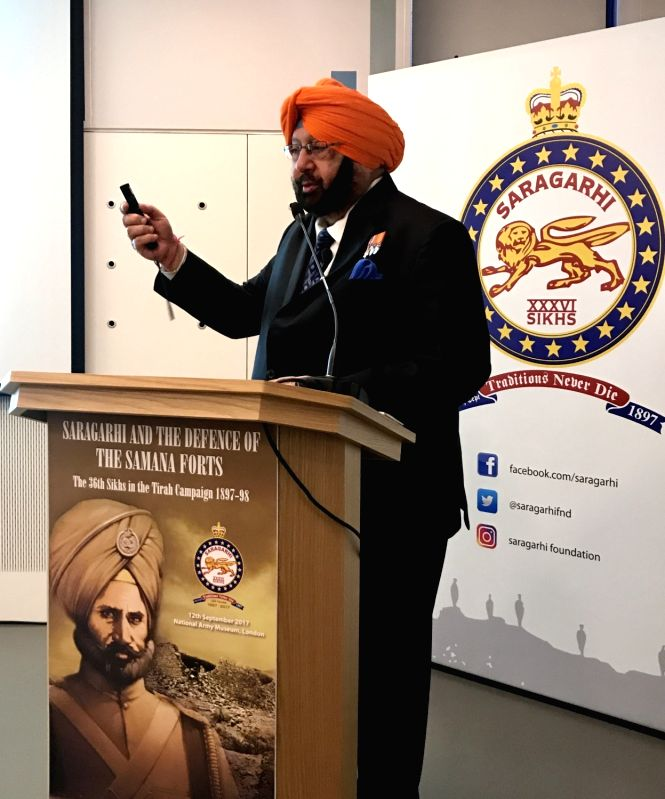 "Punjab CM launches  book ""The 36th Sikhs in the Tirah Campaign 1897-98 - Amarinder Singh"