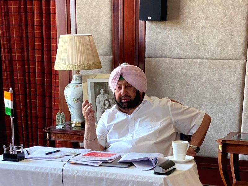 Punjab Chief Minister Captain Amarinder Singh.