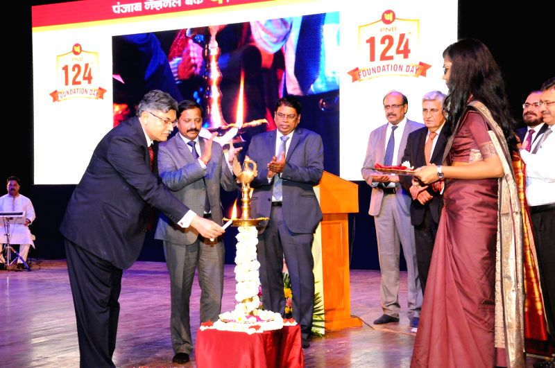 Punjab National Bank MD and CEO Sunil Mehta at Founder's day celebration. - Sunil Mehta