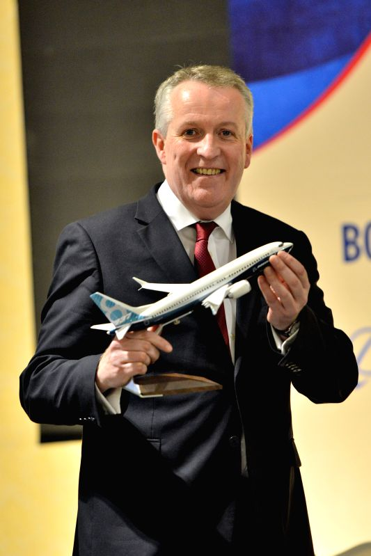 PUTRAJAYA, July 27, 2016 - Malaysia Airlines CEO Peter Bellew attends a press conference in Putrajaya, Malaysia, on July 27, 2016. Malaysia Airlines said on Wednesday that it had ordered 50 Boeing ...