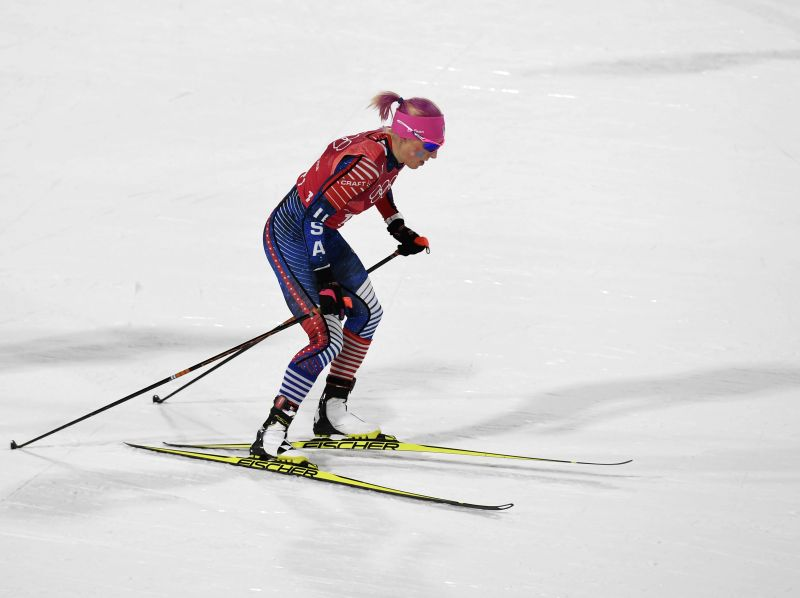 Marit Bjoergen, American women make history at Olympics