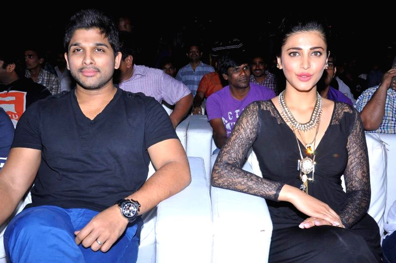 Race Gurram success meet held Hyderabad on 17th April evening, crew and cast of the film attended the event.