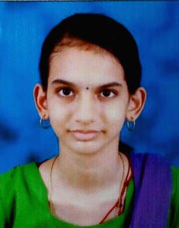 Radhika, who hails from Udupi district of Karnataka and has scored 596 marks in Karnataka Second PUC Science exams. (File Photo: IANS)