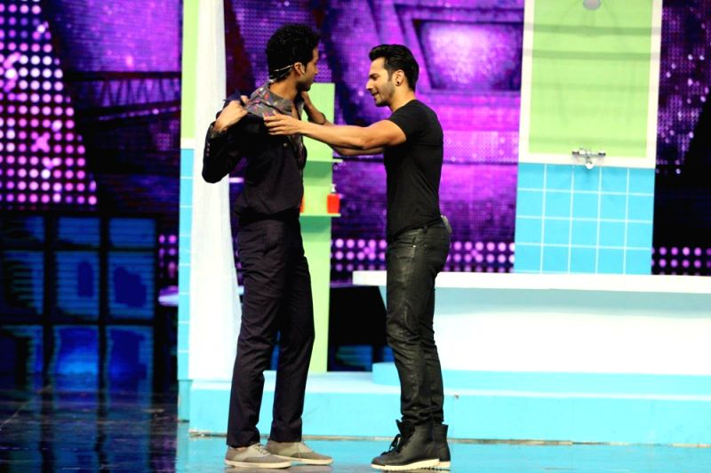 Raghav Juyal and actor Varun Dhawan - Varun Dhawan