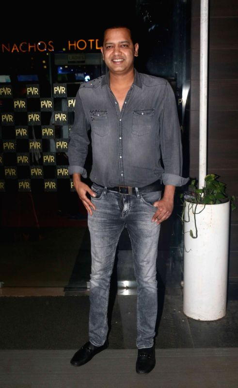 "Rahul Mahajan during screening of film ""Chalo Jeete Hai"", in Mumbai on July 28, 2018. - Rahul Mahajan"