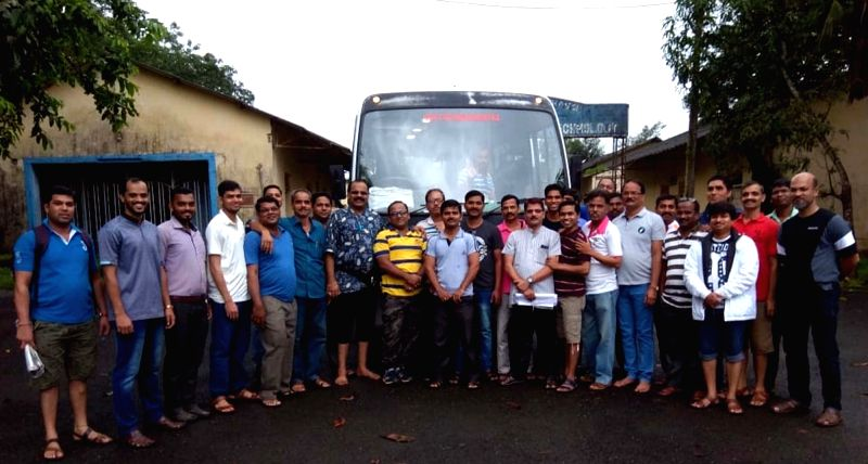 :Raigad: The 34 staffers of a university whose bus which was on its way to Mahabaleshwar for a weekend picnic when it plunged into a deep ravine near Poladpur of Maharashtra's Raigad, on July ...