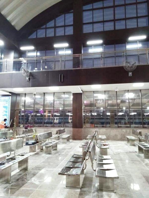 Railway station.(photo:Amit Malviya Twitter)