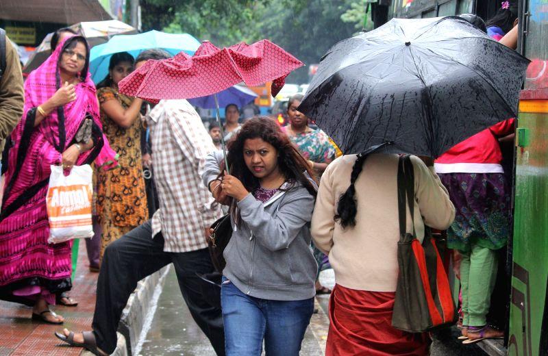 Rains lash Bengaluru on July 29, 2016.