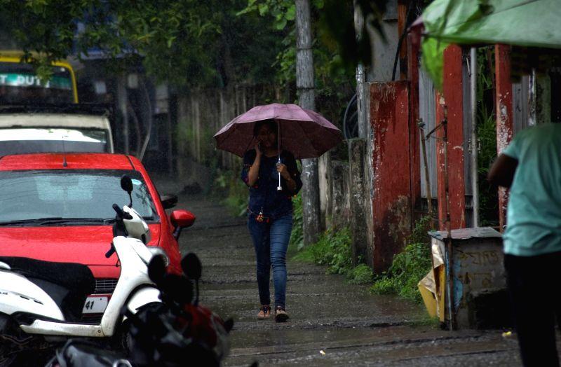 Rains lash Guwahati on June 2, 2017.