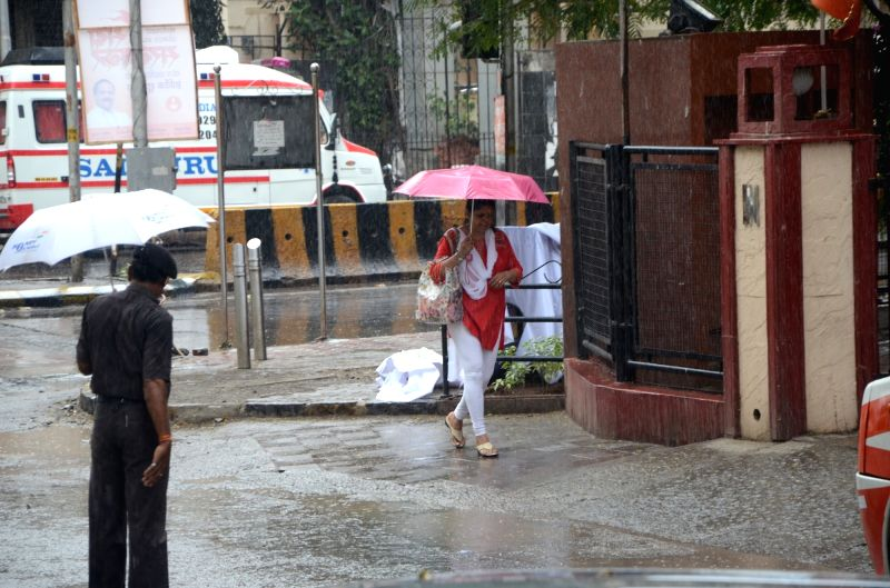 Rains lash Mumbai on June 5, 2017.