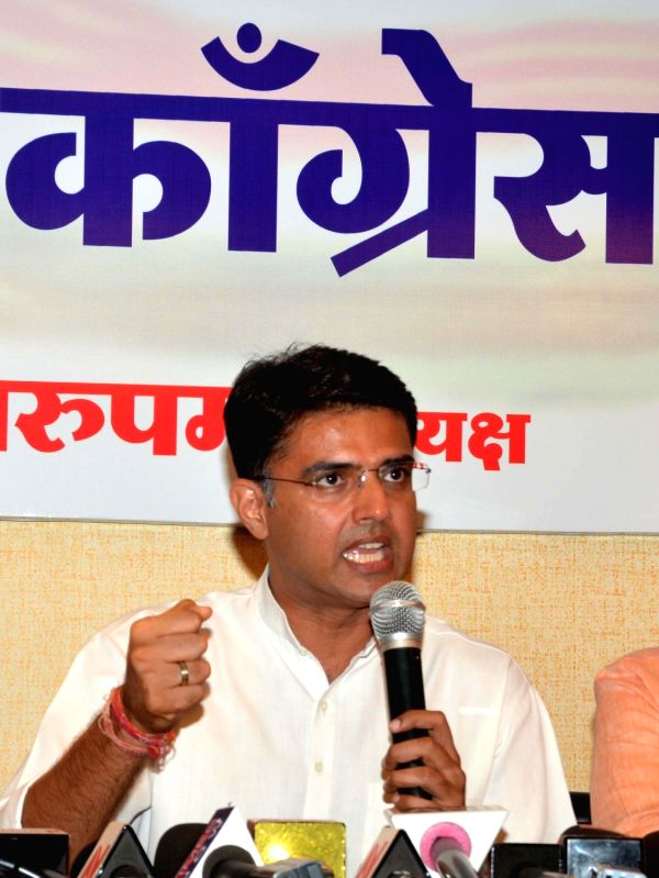 Rajasthan Congress chief Sachin Pilot. (File Photo: IANS)