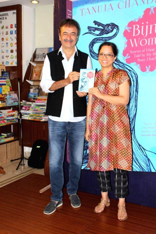 Rajkumar Hirani durint the Launch of Tanuja Chandra's Book Bijnis in Mumbai on May 6, 2017.
