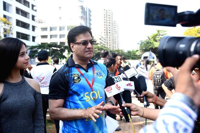 Raju V Manwani Host The Treasure Hunt in Mumbai on April 16, 2017.