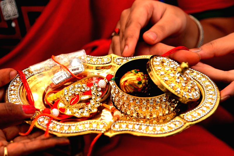 Raksha Bandhan. (Image Source: IANS)