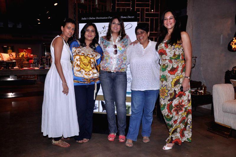 Rakshanda Khan and Urvashi Dholakia at the HouseProud.in event. - Rakshanda Khan