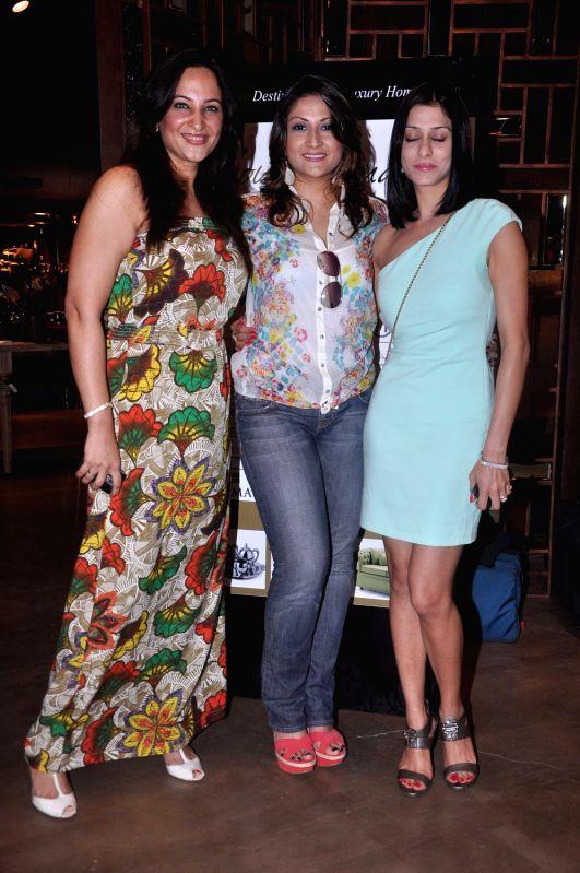 Rakshanda Khan, Urvashi Dholakia and Shilpa at the HouseProud.in event. - Rakshanda Khan