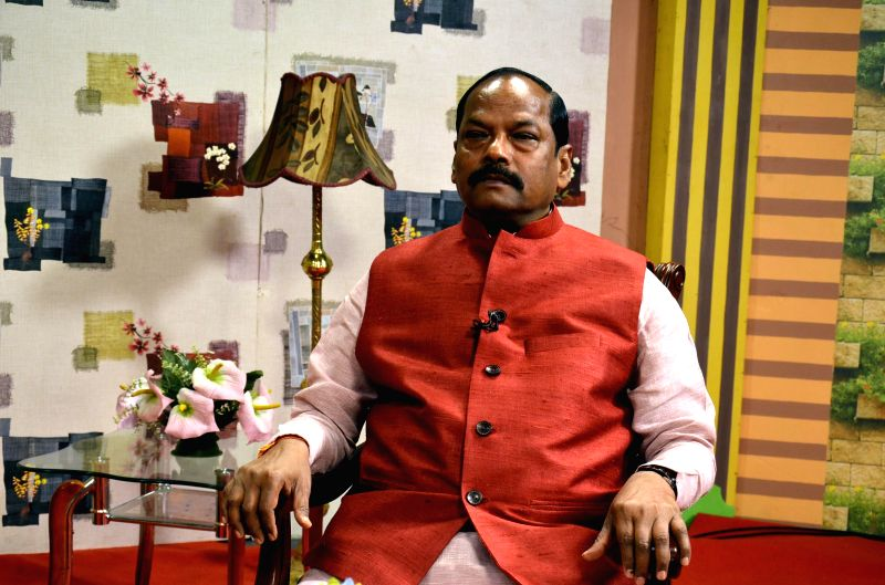 Jharkhand Chief Minister Raghuvar Das assumes office in Ranchi, on Dec 31, 2014.