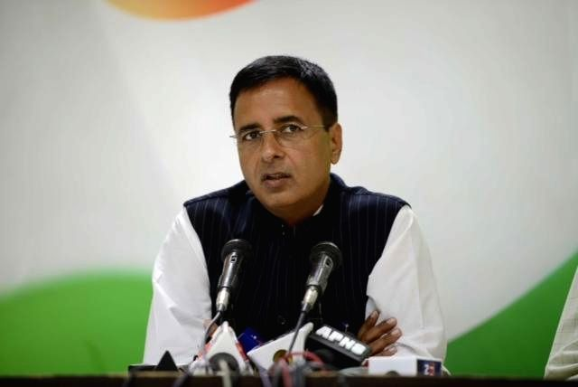 Randeep Singh Surjewala. (Image Source: IANS)