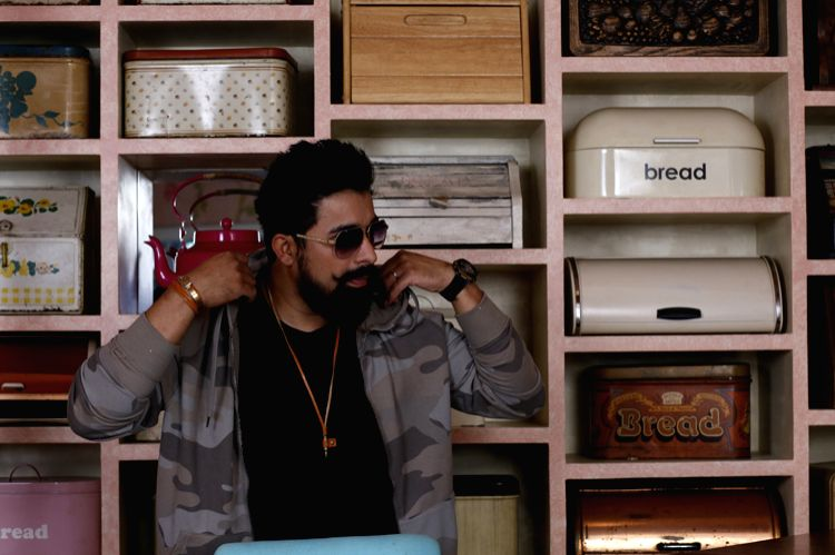Rannvijay wearing Dare by Voylla